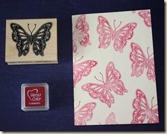 Schmetterling Step 1