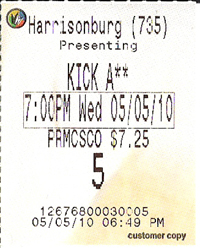 Kick A** — Kick A$$ was too racy