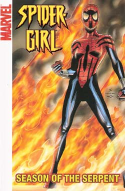 Spider-Girl, v. 10: Season of the Serpent cover