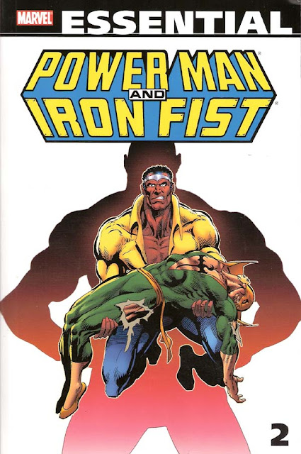 Essential Power Man & Iron Fist, v. 2 cover