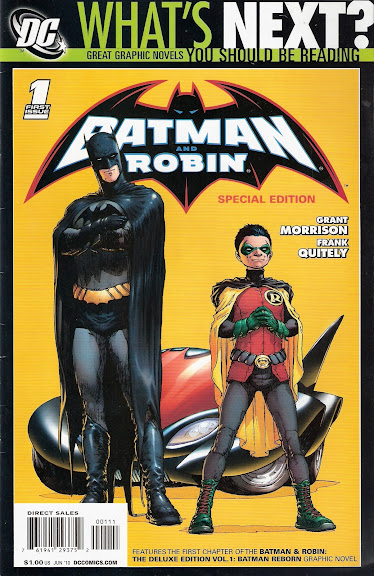 Batman & Robin #1 cover