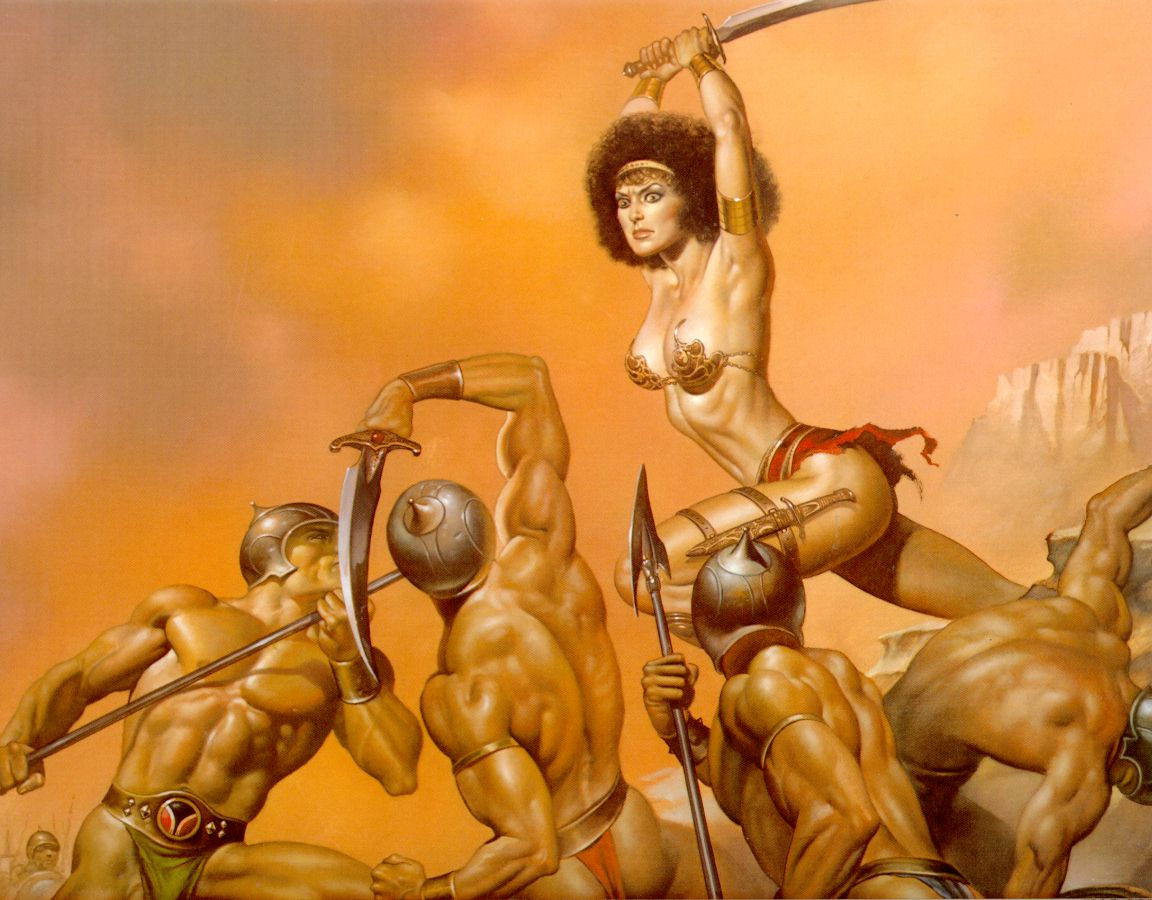 Arte de Boris Vallejo