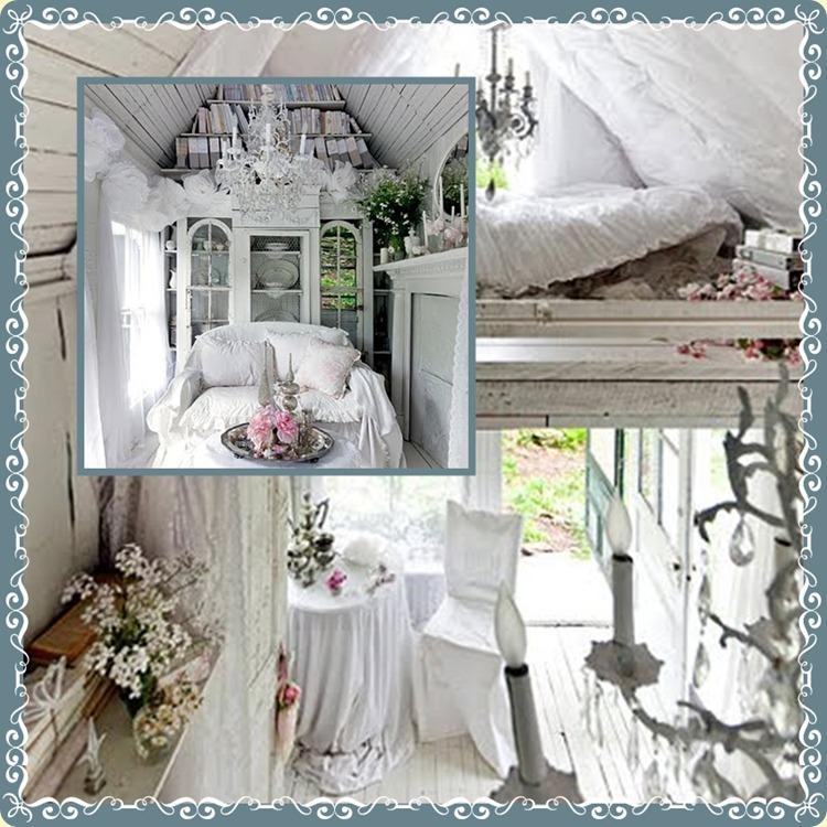 white hideaway