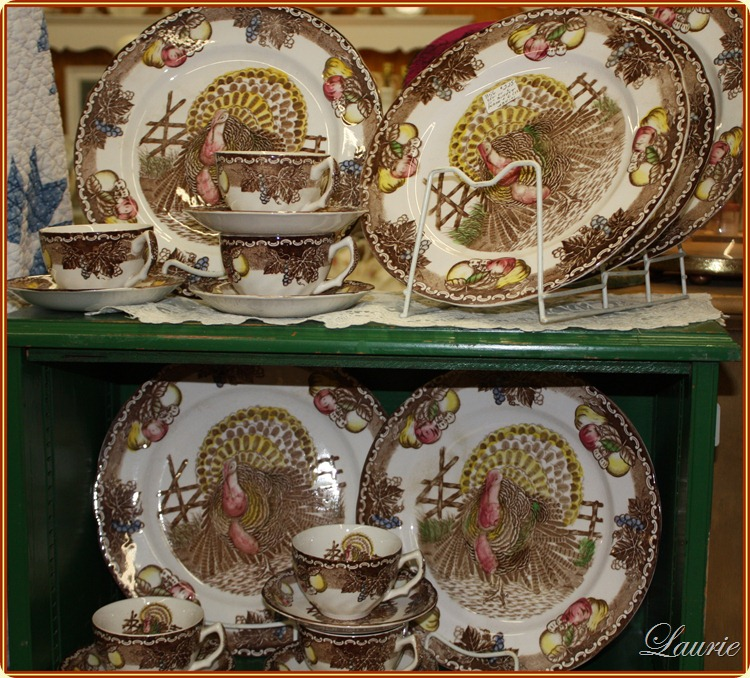 turkey plates