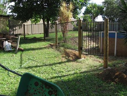 Fence April