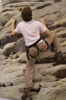 Matando saudades de escalar