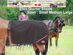 New Zilco Carriage Driving Harness Waterproof Quarter Sheet Rug