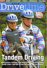 Carriage Driving Magazine Drivetime Winter 2010