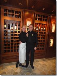 Caribbean Princess Wine Bar Olena and Roman Puzanov