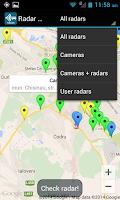 Screenshot of Radar Map Moldova