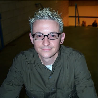 rockstar hairstyle. rock star hairstyles. Chester Bennington Rockstar