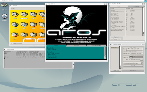 AROS ARM linux-hosted
