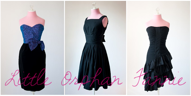 Little orphan Fannie holiday dresses