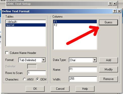 define format step 1