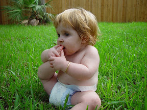 katie in the grass