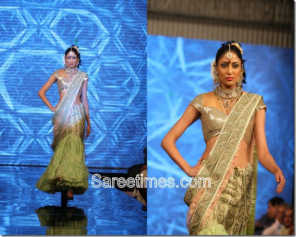 Green_Designer_Saree,