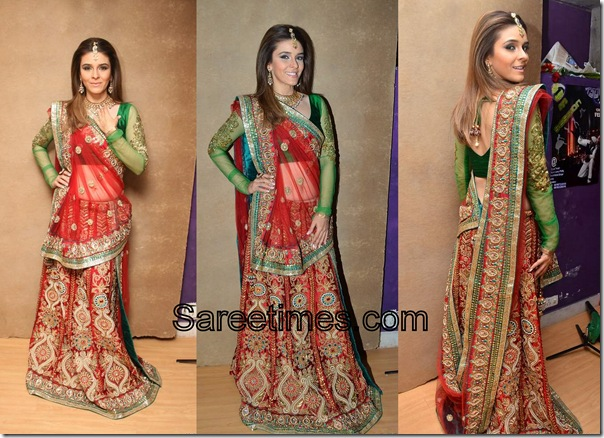 Raageshwari_Red_Designer_Saree