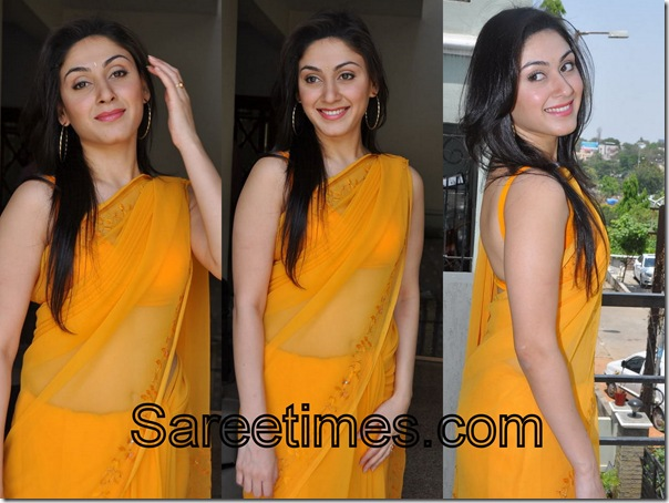 Manjari_Yellow_Designer_Saree