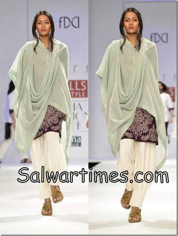 Dev_R_Nil_Maroon_Designer_Salwar