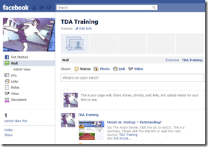 What? TDA Training is on FB? No way!!!!