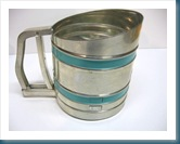 turquoise sifter