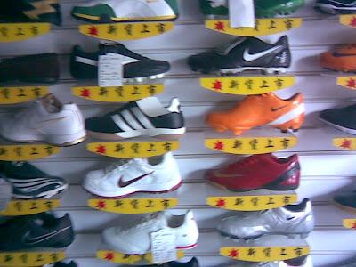 高仿的 耐克、阿迪 运动鞋
