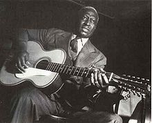 American blues legend: Leadbelly