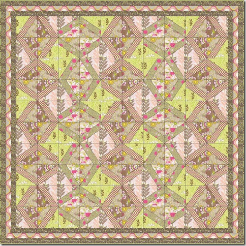 Free Easy Quilt Patterns Instructions : Chickenlady Quilts: Free Quilt Patterns from www.PatBravo.com