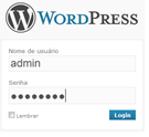 form-login-wordpress-admin
