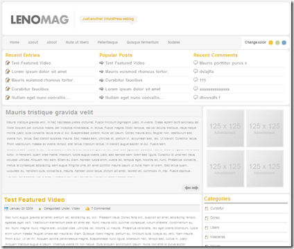 theme-wordpress-lenomag