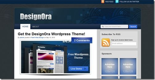 designora-wordpress-theme