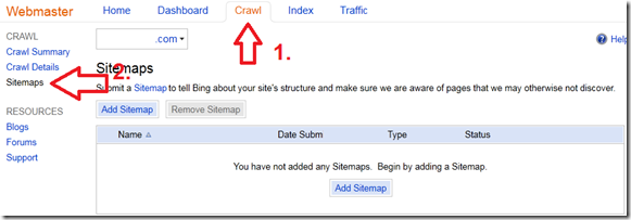 add-sitemap-bing
