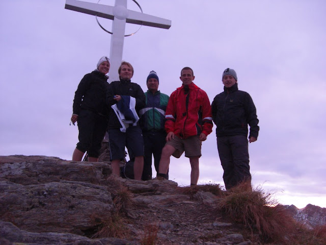 Gipfelsieg um 6.14 Uhr bei minus 2 Grad