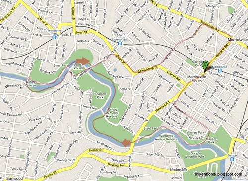 20090606 Cooks River map
