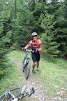 Szlak był naprawdę stromy i raczej ciężko byłoby go podjechać