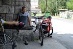Postój serwisowy na ogarniecie roweru Mariusza