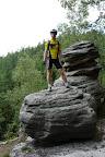 W Górach Stołowych spotkamy wiele tego typu osobliwości skalnych