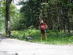 Pierwszy etap podjazdu był lightowy - cały czas po fajnej szutrowej drodze w lesie