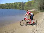 Jezioro Trupel, zapowiadało się na fajny singiel dookoła ale szybko się skończył