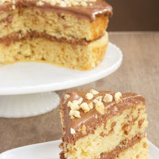 Hazelnut Cake with Mocha Frosting