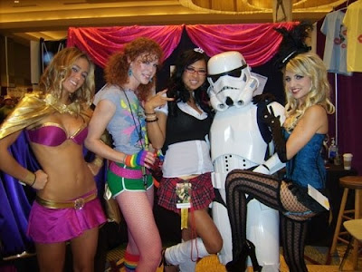 Hot Chicks With Stormtroopers