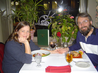 image of our last dinner at Peppino's