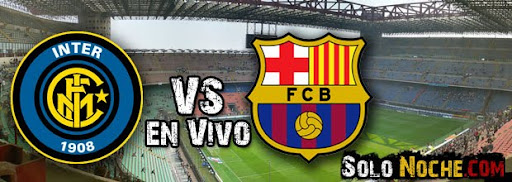 Inter Milan vs Barcelona en Vivo Partido Champions League 16