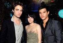 Robert Patterson, Kristen Stewart, Taylor Lautner