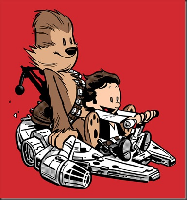 calvin star wars