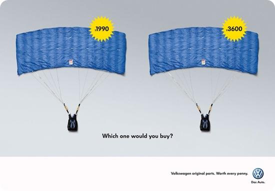 volkswagen paracaidas