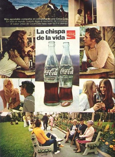 Publicidad Coca-Cola 1971