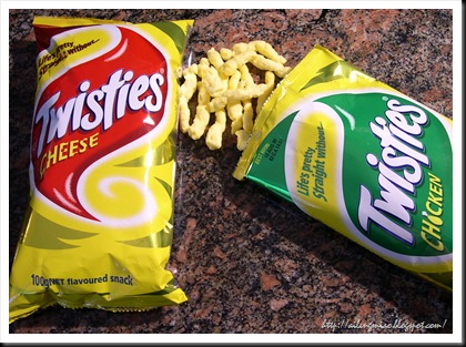 Twisties Junk Food