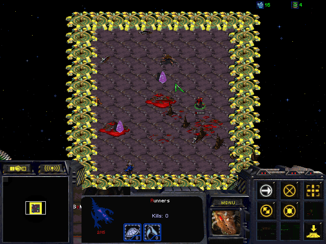 Download StarCraft Map: Dodge The Spikes