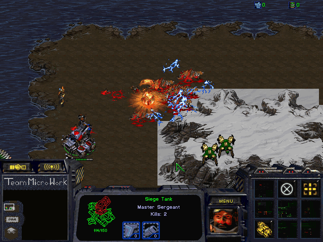 Download StarCraft Map: Team Micro Work 3
